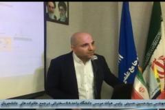 سخنرانی مهندس حسینی در جمع دانشجویان